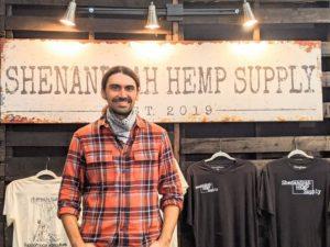 Owner of Shenandoah Hemp Supply