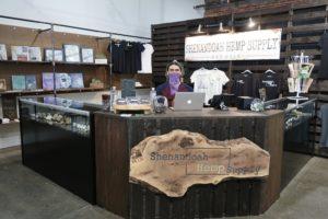 Lee Magalis at Shenandoah Hemp Supply